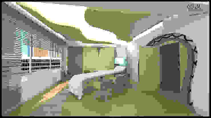 özlem tokerim iç mimarlık ve tasarım – toplantı odam..: modern tarz , Modern