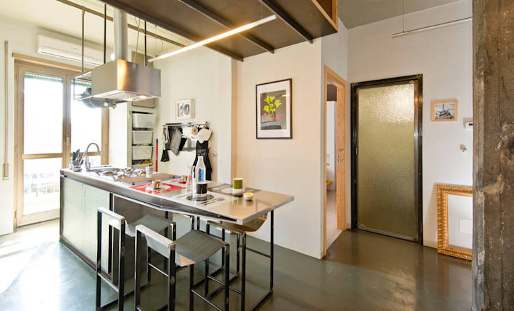 Bed and Breakfast | Home gallery, Roma Cucina in stile industriale di Spaghetticreative Industrial