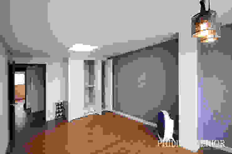 부산 부곡 LG아파트 방2: 필립인테리어의 현대 ,모던