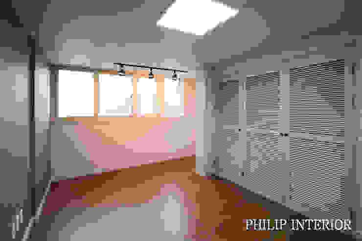 부산 부곡 LG아파트 방3: 필립인테리어의 현대 ,모던