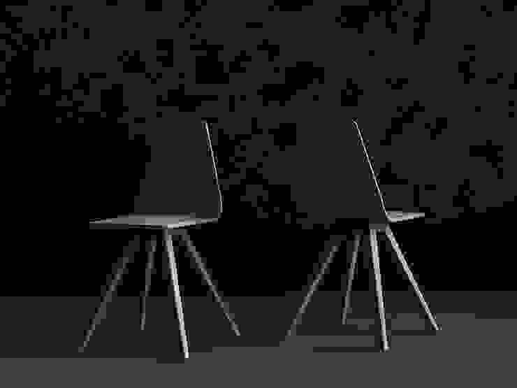 Iwona Kosicka Design Sala de jantarCadeiras e bancos