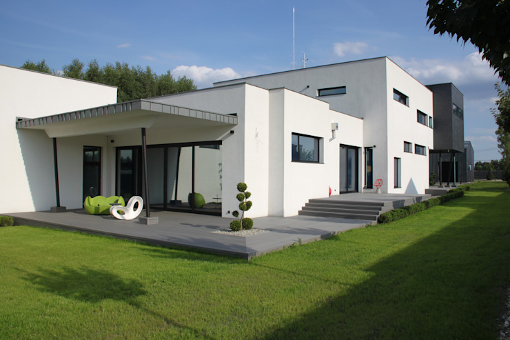 Industriële huizen van REFORM Konrad Grodziński Industrieel