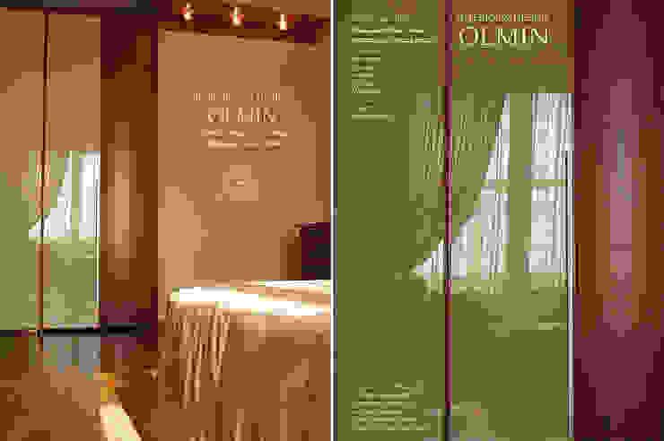 Дизайн – шкафы, тумбочки и пр. ИП OLMIN - Архитектурная студия Олега Минакова ГардеробнаяШкафы для одежды и комоды Изделия из древесины Коричневый