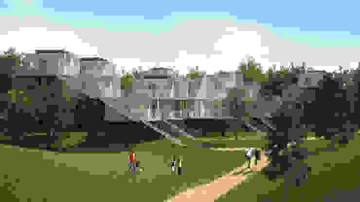 Maisons dans les arbres - intégration dans le paysage Maisons originales par Pepindebanane Éclectique