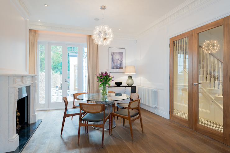 Claremont Road Moderne Esszimmer von Will Eckersley Modern