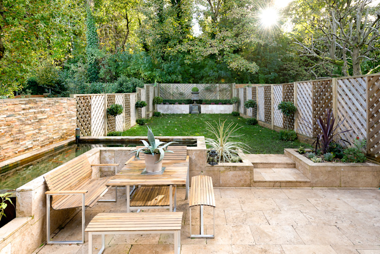 Claremont Road Modern style gardens by Will Eckersley Modern
