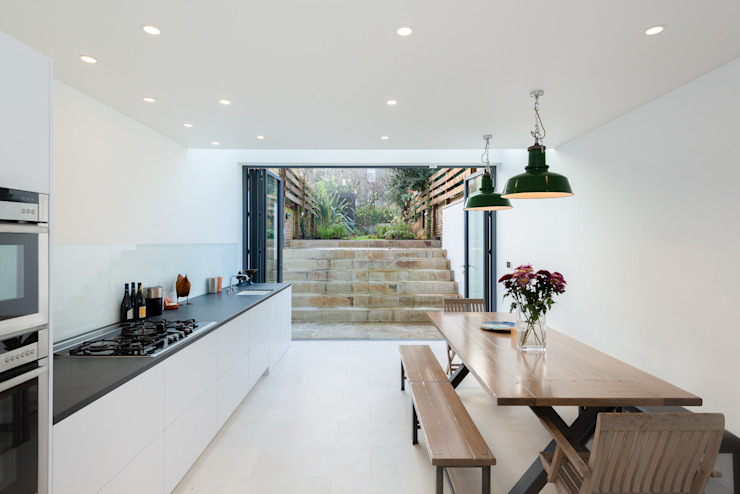 Arlington Road Minimalist kitchen by Will Eckersley Minimalist