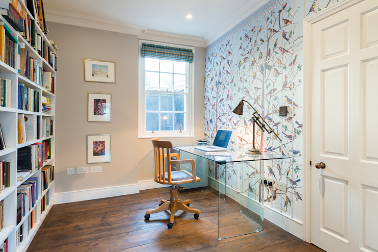 Study/office by Will Eckersley, Modern