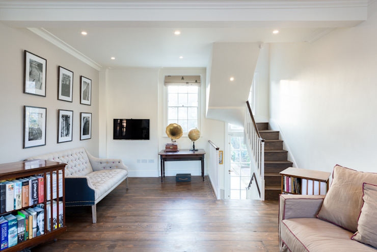 Living room by Will Eckersley, Modern