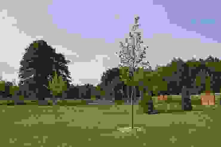 Dom ZESTAWNA Nowoczesny ogród od REFORM Konrad Grodziński Nowoczesny
