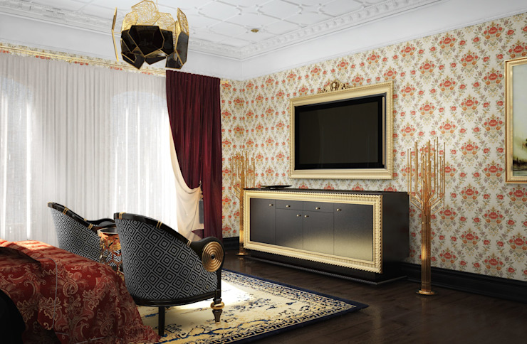 Спальня в загородном доме от Настасья Евглевская Классический