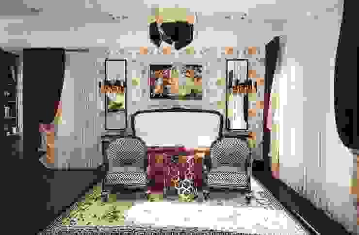 Спальня в загородном доме Спальня в классическом стиле от Настасья Евглевская Классический