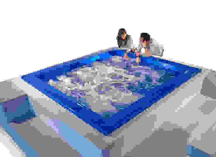 Baños modernos de Monigali Moderno