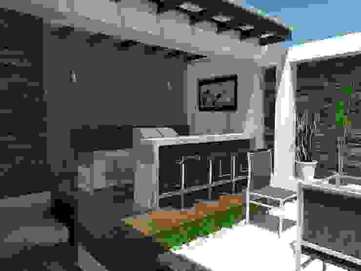 VALLE DE LAS PALMAS Jardines minimalistas de AurEa 34 -Arquitectura tu Espacio- Minimalista