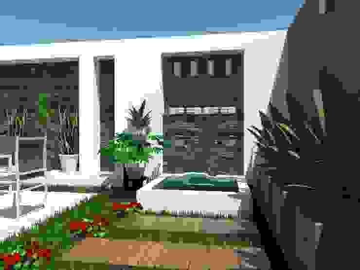 Minimalist style garden by AurEa 34 -Arquitectura tu Espacio- Minimalist