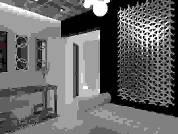 Couloir, entrée, escaliers modernes par AurEa 34 -Arquitectura tu Espacio- Moderne