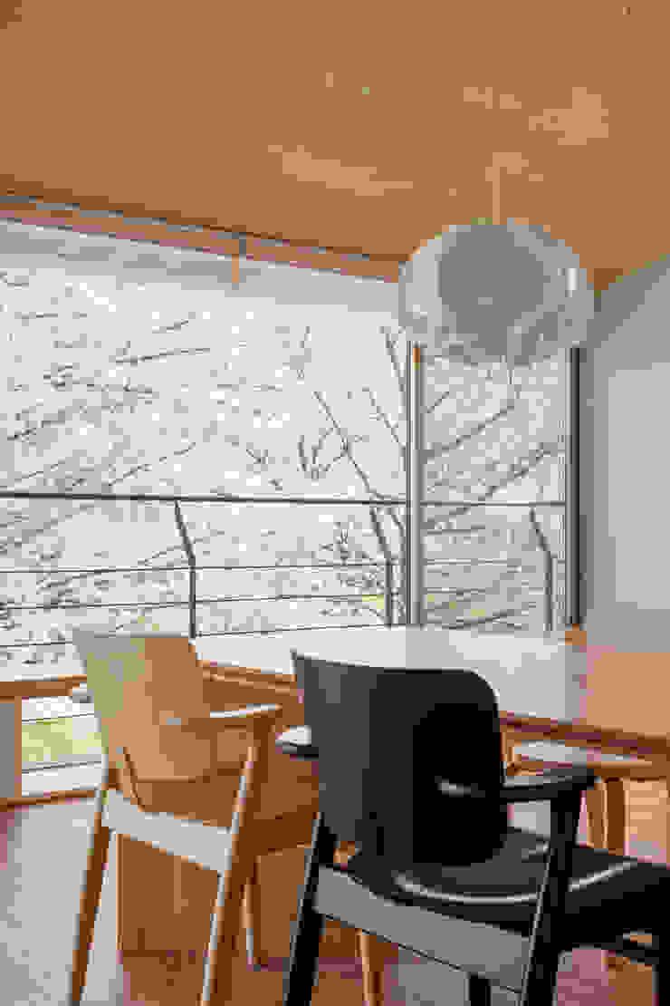 Moderne Esszimmer von 株式会社リオタデザイン Modern