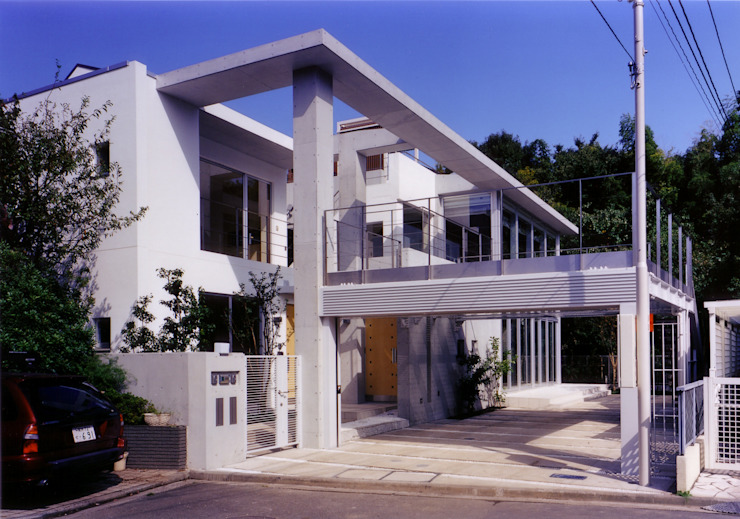 外観 モダンな 家 の 豊田空間デザイン室 一級建築士事務所 モダン