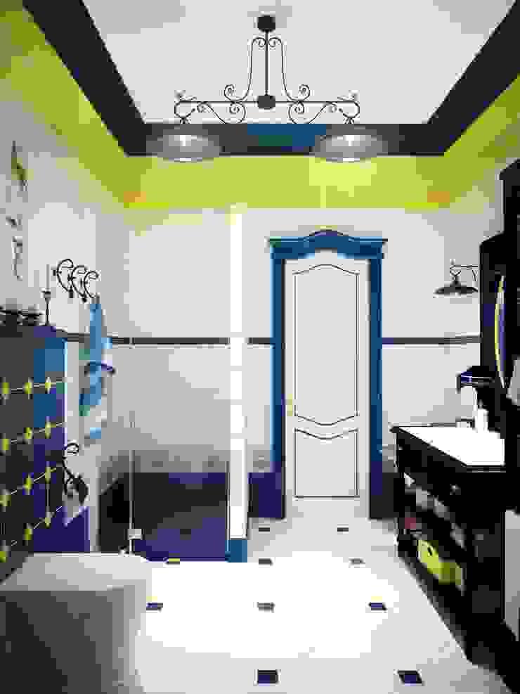 Яркая ванная Ванная в классическом стиле от Настасья Евглевская Классический