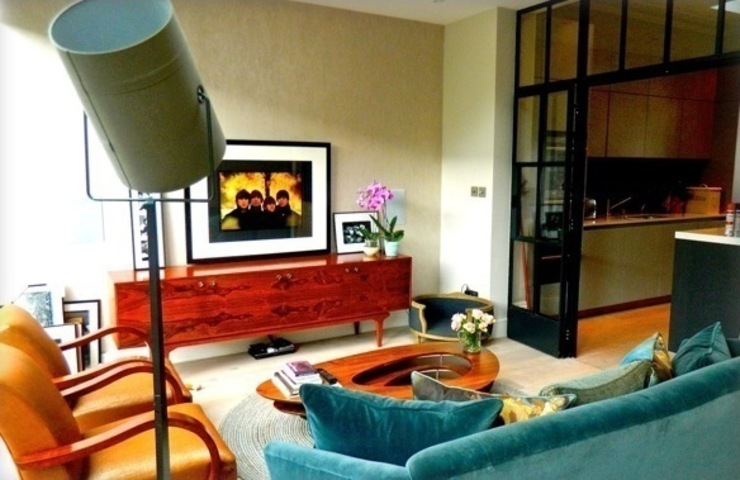 Townhouse North London Eclectic style living room by adventures in living Eclectic