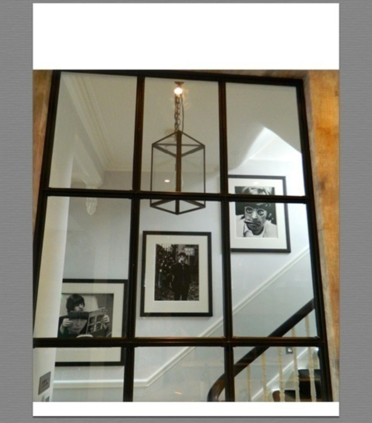 Townhouse North London Eclectic style corridor, hallway & stairs by adventures in living Eclectic