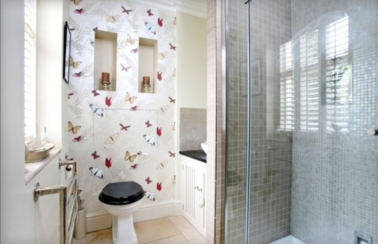 Riverside property Oxfordshire Eclectic style bathroom by adventures in living Eclectic