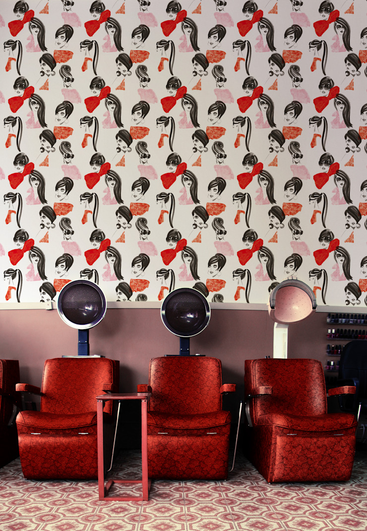 Jordi Labanda Wallpaper Collection: modern  by Paper Moon, Modern