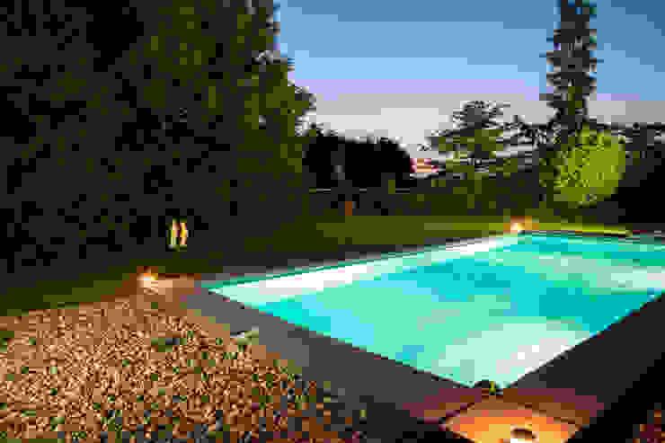 Zwembad Moderne tuinen van Gernell Hoveniers Modern