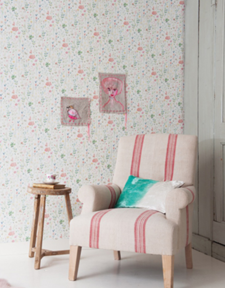 Field of Flowers Wallpaper ref 3900016: country  by Paper Moon, Country