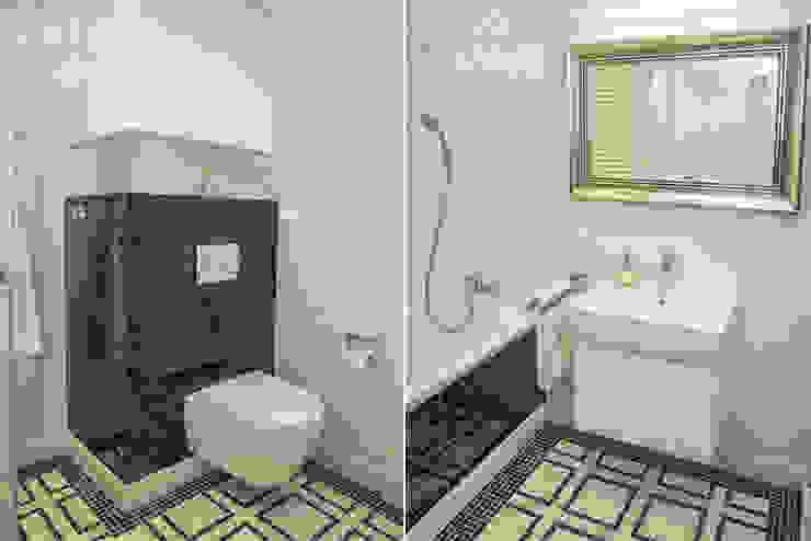 HOLADOM Ewa Korolczuk Studio Architektury i Wnętrz Salle de bain moderne