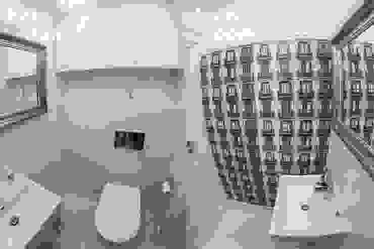 HOLADOM Ewa Korolczuk Studio Architektury i Wnętrz Salle de bain scandinave
