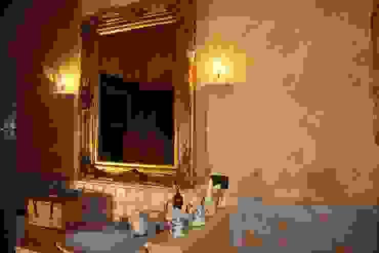 Casale Rustico Bagno in stile rustico di Interior Design Stefano Bergami Rustico