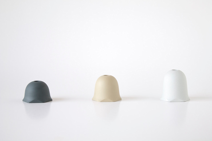 2014 Scape modulaire vaasjes van Oato. Design Office Minimalistisch