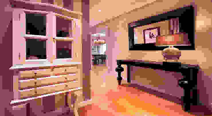 Clásico, el estilo que revaloriza. Pasillos, vestíbulos y escaleras de estilo clásico de Apersonal Clásico
