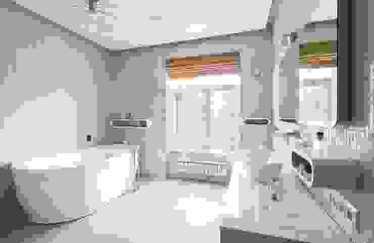 ванная комната Ванная комната в стиле минимализм от VNUTRI Минимализм