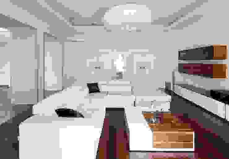 гостиная Гостиная в стиле минимализм от VNUTRI Минимализм