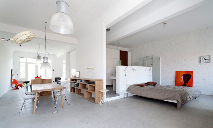 Bedroom by Tim Diekhans Architektur, Industrial