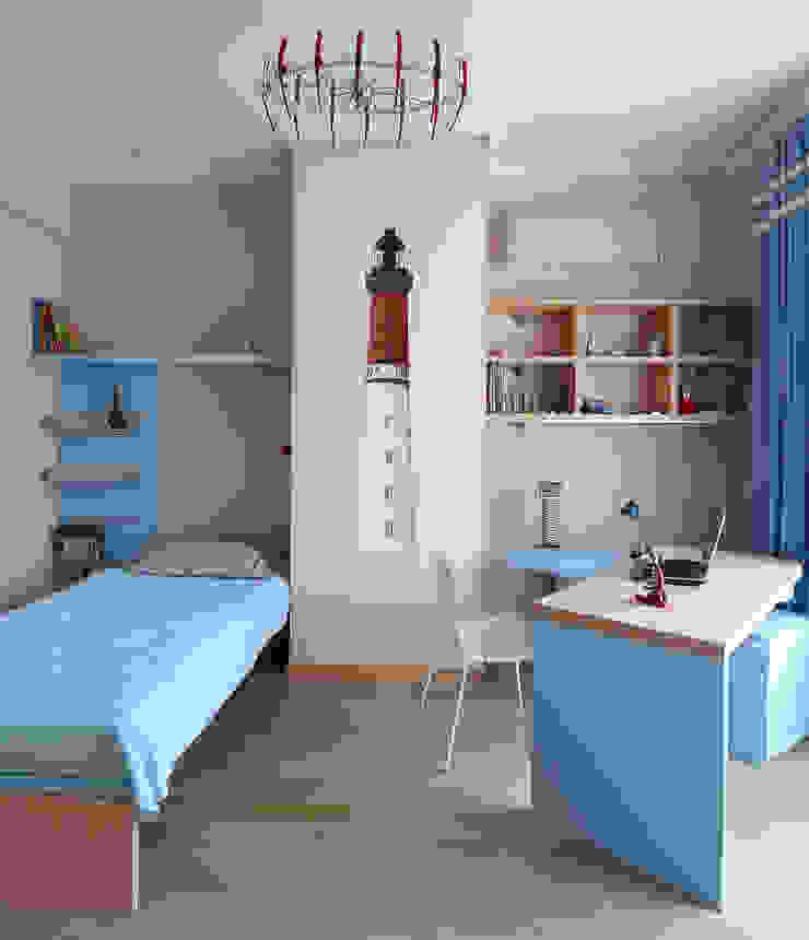 детская комната для мальчика Детские комната в эклектичном стиле от VNUTRI Эклектичный