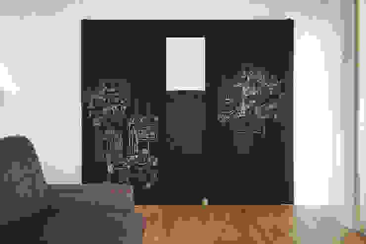 吉祥寺のS邸 ラスティックスタイルな 壁&床 の VOLO ラスティック
