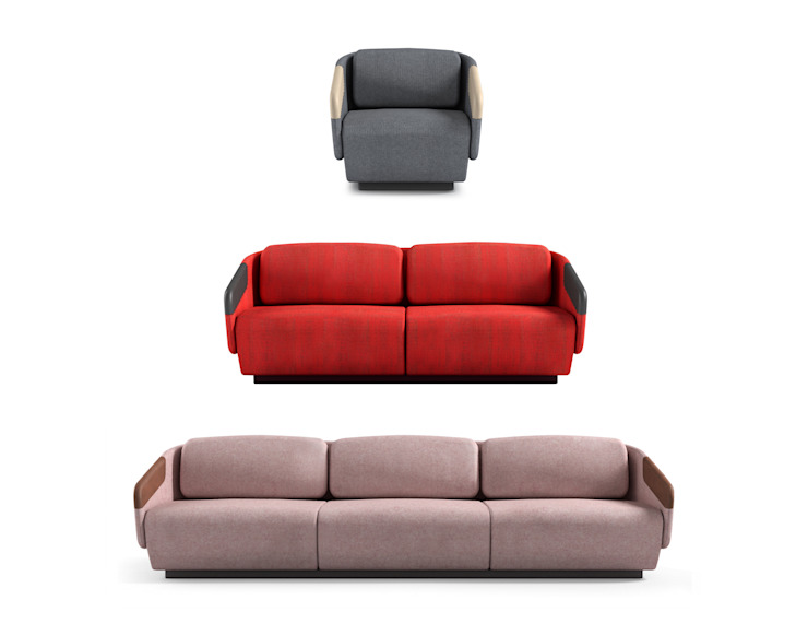 WORN collection for Casamania Samuel Wilkinson studio Living roomSofas & armchairs