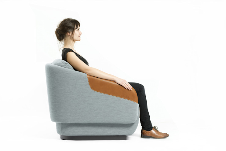 WORN for Casamania Samuel Wilkinson studio Living roomSofas & armchairs