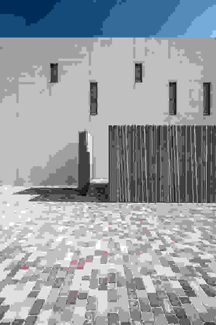 Materialidad del conjunto Casas de estilo moderno de Hernández Arquitectos Moderno