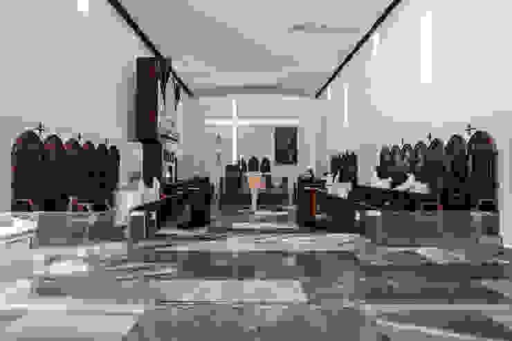 Living room by Hernández Arquitectos, Modern