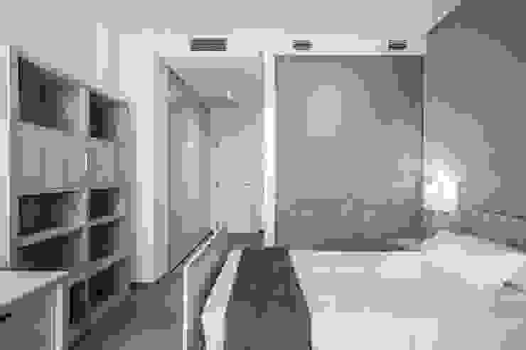 ห้องนอน โดย Hernández Arquitectos, มินิมัล