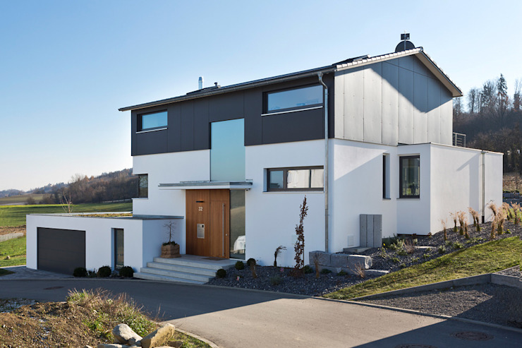 m67 architekten Modern Houses