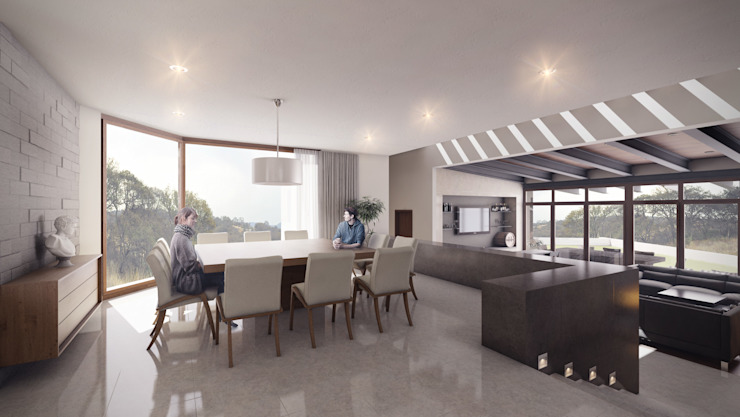 Moderne Esszimmer von Pure Design Modern