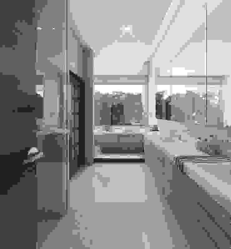 Rancho San Juan Baños modernos de Pure Design Moderno