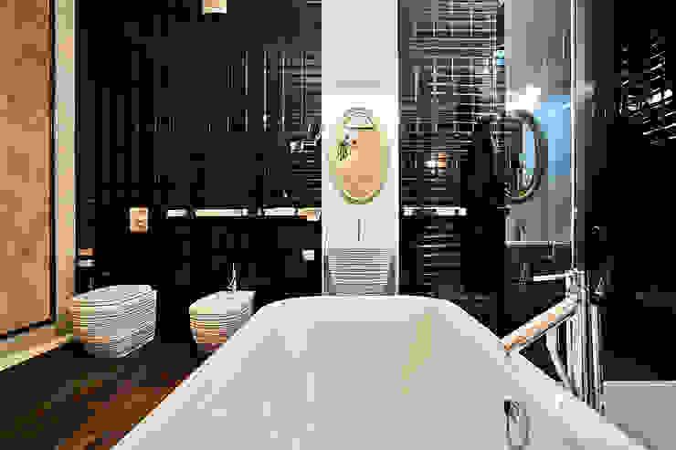 зона комфорта Ванная комната в эклектичном стиле от VNUTRI Эклектичный