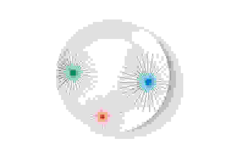 Porcelanowy talerz marki Zulana (śr.21cm) od Zulana Eklektyczny