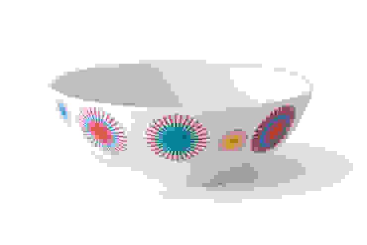 Porcelanowa miseczka marki Zulana (śr.16 cm) od Zulana Eklektyczny